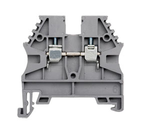 AVK Series Feed Through DIN Rail Mounting Terminal Blocks, 600V, 20 to 175 Amp, 26 to 6-2/0 AWG : DIN Rail Terminal Blocks, Feed Through and Earth Terminals