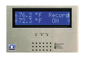 Web-Ethernet temperature monitoring. Dual thermocouple input : iSD-TC