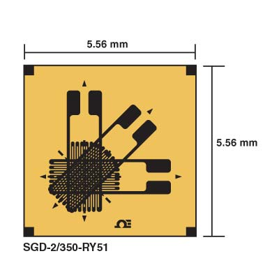 What is the appropriate arrangement of strain gauges on a tube for