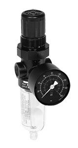 Filter Regulators | B07  Inline Filter/Regulators for Compressed Air