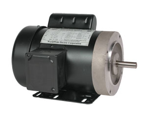 General Purpose AC Motors, 56C Flange, Single Phase, Fractional and Integral HP | OMT Series
