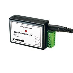 Bridge and Strain Gauge data acquisition system & Data Logger | OM-CP-BRIDGE120