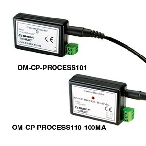 Process Current Data Loggers (+/- 100mA)