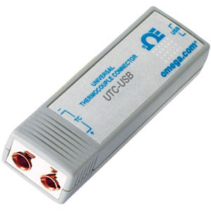 USB interface with thermocouple cold junction compensation | UTC-USB