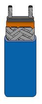 Self-Regulating Rapid-Trace Heating Cable/Medium Temperature | SRM Series