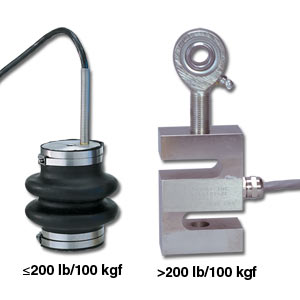 Aluminium S-Beam Load Cells, ±10 kgF to ±500 kgF   LCM105 and LCM115 Series