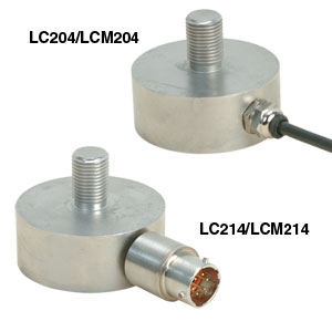 High Accuracy Miniature Load Cells | LCM204 and LCM214 Series