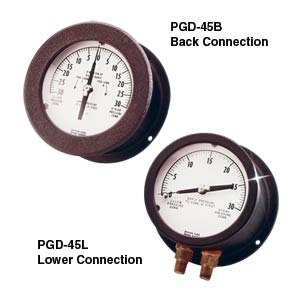 Differential Pressure Gauges, Unidirectional or Bidirectional | PGD