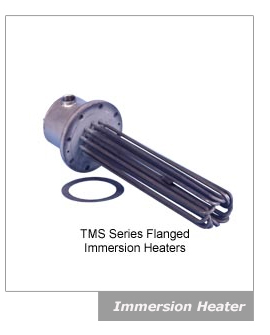 TMS series flanged Immesion Heater