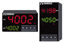 1/8 DIN Dual Display Temperature, Strain and Process meter and PID Controllers | CNI8DH and CNI8DV