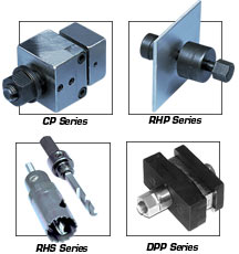 Panel Punches and Hole Saws for Thermocouple Connectors | CP, DPP, RHS,RHP,RS Series