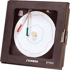 Economical 2-Pen Circular Process Recorder | CT7310, CT7311, CT7312