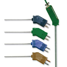 Low Noise Thermocouple Probes With Standard Size Plug | G(*)QIN and G(*)QSS
