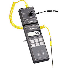 Multiprobe Switchbox For Handheld Thermocouple Thermometers | HH20SW-J, HH20SW-K, HHSW-T