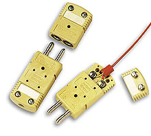 Female and Male High Temperature Standard Connectors With Zinc Ferrite Core for EMI/RFI Suppression | HSTW-(*)-F-FT and HFSTW-(*)-M