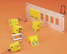 Miniature Thermocouple Panel-Mount Sockets | MPJ-(*)-F