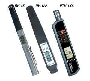PTH-1XA Pocket Testers for Temperature and Humidity   PTH-1XA  and RH-1X