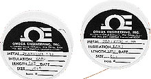 Uninsulated, Fine Gage, Platinum-Rhodium Thermocouple Wire   SPPL, SP13RH, SP10RH, SP6RH, SP30RH